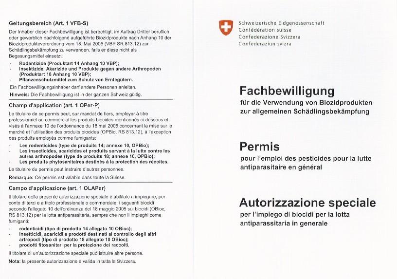 Fachausweis / Zertifikat | 4M ZELLWEGER